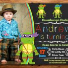 Ninja turtles birthday invitation,Ninja turtles invite,Ninja turtles thank you card FREE--002