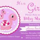 Turtle baby shower invitation,Turtle baby shower invite,Turtle printable invite--127