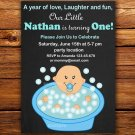 Little baby invitation,Little baby invite,Little baby thank you card FREE--130