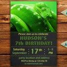 Snake birthay invitation,Snake birthay invite,Snake thank you card FREE--164