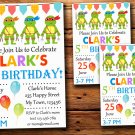Ninja turtles birthday invitation,Ninja turtles birthday invite--226