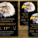 Eagle birthday invitation,Eagle birthday invite,eagle scout birthday invitation