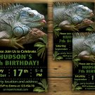 Chameleon birthday invitation,Chameleon birthday invite,Chameleon birthday party