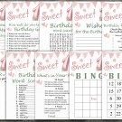 16th Birthday Games package,Adult Birthday Games,Womens birthday,9 Birthday Games,INSTANT DOWNLOAD