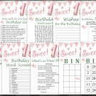 18th Birthday Games package,Adult Birthday Games,Womens birthday,9 Birthday Games,INSTANT DOWNLOAD