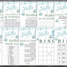 25th Birthday Games package,Adult Birthday Games,Womens birthday,9 Birthday Games,INSTANT DOWNLOAD