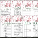 35th Birthday Games package,Adult Birthday Games,Womens birthday,9 Birthday Games,INSTANT DOWNLOAD
