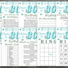 30th Birthday Games package,Adult Birthday Games,Womens birthday,9 Birthday Games,INSTANT DOWNLOAD