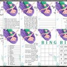 Mermaid Birthday Games package,Adult Birthday Games,Under the sea,9 Birthday Games,INSTANT DOWNLOAD