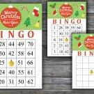 Christmas bingo game,merry christmas bingo,Christmas Party ,Holiday Bingo,INSTANT DOWNLOAD--10
