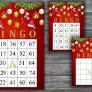 Christmas bingo game,Christmas toys bingo,bordo,Christmas Party ,Holiday Bingo,INSTANT DOWNLOAD--16