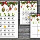 Christmas bingo game,Christmas toys bingo,Christmas Party ,Holiday Bingo,INSTANT DOWNLOAD--18