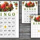 Christmas bingo game,Christmas presents bingo,Christmas Party ,Holiday Bingo,INSTANT DOWNLOAD--19