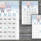 Christmas bingo game,Polar bear bingo,Christmas Party bingo,Holiday Bingo,INSTANT DOWNLOAD--24