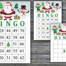 Christmas bingo game,Happy santa bingo,Christmas Party bingo,Holiday Bingo,INSTANT DOWNLOAD--25