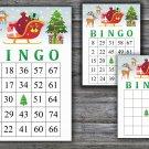 Christmas bingo game,Rudolph bingo,Christmas Party bingo,Holiday Bingo,INSTANT DOWNLOAD--26