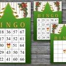 Christmas bingo game,Christmas tree bingo,Christmas Party bingo,Holiday Bingo,INSTANT DOWNLOAD--30