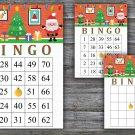 Christmas bingo game,Merry Christmas bingo,Christmas Party bingo,Holiday Bingo,INSTANT DOWNLOAD--32