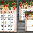 Christmas bingo game,Christmas toys bingo,Christmas Party bingo,Holiday Bingo,INSTANT DOWNLOAD--33