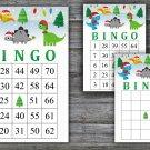 Christmas bingo game,Christmas dinosaur bingo,Christmas Party ,Holiday Bingo,INSTANT DOWNLOAD--41