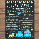 dinosaurs 1st birthday poster,animals train 1st birthday poster,dino train birthday poster