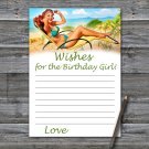 Pin Up Wishes for the birthday girl,Wishes Party Game,Adult Birthday Game,INSTANT DOWNLOAD--4