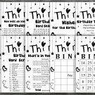 Thirty Birthday Game package,Adult Birthday Game,30th birthday game pack,9 GameINSTANT DOWNLOAD