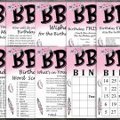 BBQ Birthday Game package,Adult Birthday Game,Barbecue Birthday Party,9 GameINSTANT DOWNLOAD