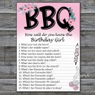 BBQ How well do you know the birthday girl,Adult Birthday Game,INSTANT DOWNLOAD--44
