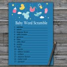 Baby toys Baby Word Scramble Game,Baby toys Baby shower games,INSTANT DOWNLOAD--317
