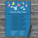 Baby toys Celebrity Baby Name Game,Baby toys Baby shower games,INSTANT DOWNLOAD--317