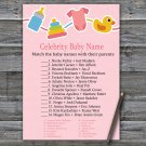 Baby toys Celebrity Baby Name Game,Baby toys Baby shower games,INSTANT DOWNLOAD--316