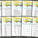 Crane baby shower games package,Crane baby shower games pack,9 Games,INSTANT DOWNLOAD-374