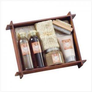 #36398 Tea & Ginger Bath - Wood Tray