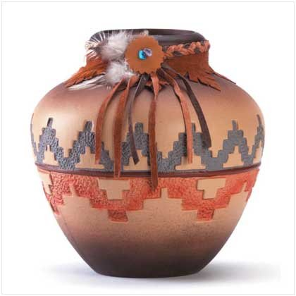 #34745 Southwestern Patterned Vase