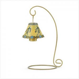 #37605 Fimo Southwestern Candle Lamp