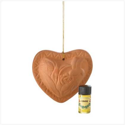 #35830 Heart Diffusers With Oil