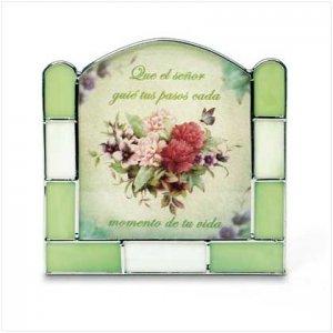 #36657 Spanish Prayer Candle Holder