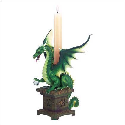#32200 Dragon Candleholder Treasure Box