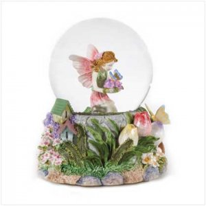 #36168 Musical Fairy Snowglobe