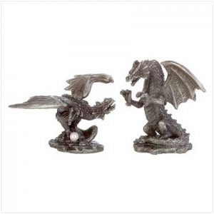 #33672 Pair Of Fighting Dragons