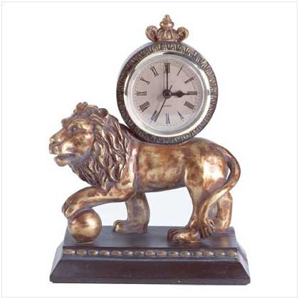 #33615 Golden Lion Clock