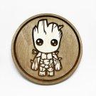 Baby Groot Coaster - Wood - Marvel Super Hero