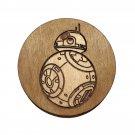 Star Wars Coasters - Wood - BB8