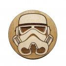 Star Wars Coasters - Wood - Stormtrooper