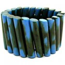 BSAB3001TQ-INDIA LUCITE STRETCH BRACELET