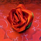 """Love In Full Bloom"" Red Rose Hairclip"