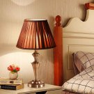 "13"" Antique Brass Bedroom LED Bulb Table Lamp"