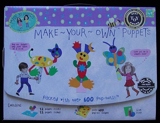 Made by Hands Make Your Own Puppets