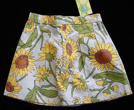 Gymboree Sunflower Skort 3 New
